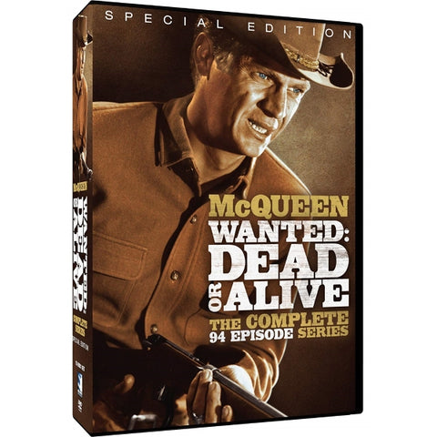 Wanted: Dead or Alive - The Complete Series - Special Edition [DVD Box Set]