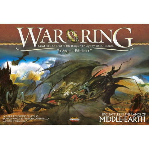 War of the Ring - 2nd Edition [Board Game, 2-4 Players]