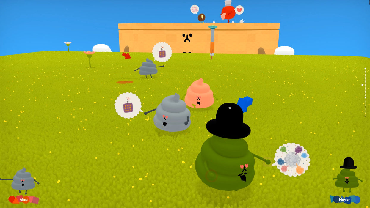Wattam - Sushi Variant Cover [PlayStation 4]
