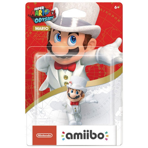 Wedding Outfit Mario Amiibo - Super Mario Odyssey Series [Nintendo Accessory]