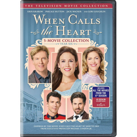 When Calls the Heart: The Television Movie Collection - Year Six [DVD Box Set]