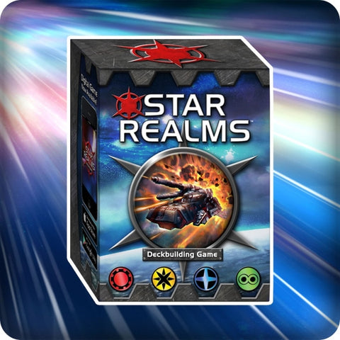 Star Realms Deckbuilding Game - White Wizard Games [Card Game, 2 Players]