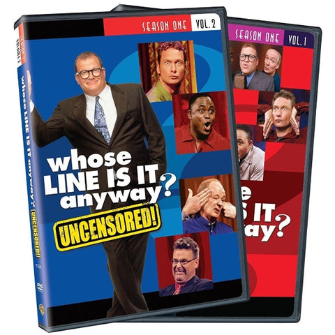 Whose Line is it Anyway? Season 1 - Volumes 1 & 2 [DVD Box Set]