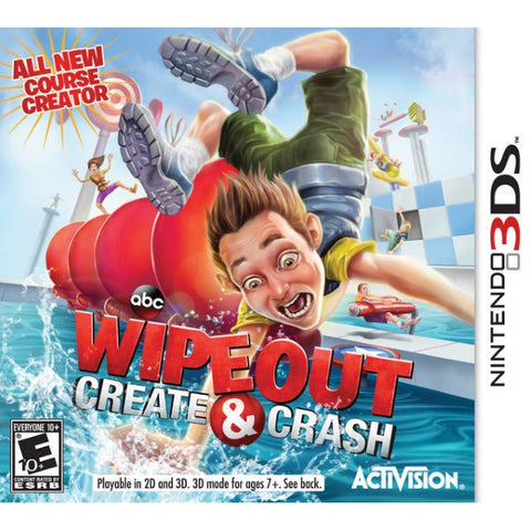 Wipeout: Create & Crash [Nintendo 3DS]