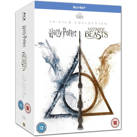 Wizarding World: 10 Film Collection [Blu-Ray Box Set]