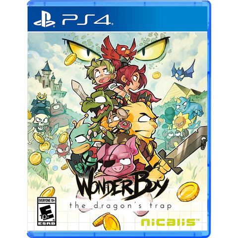 Wonder Boy: The Dragon's Trap [PlayStation 4]