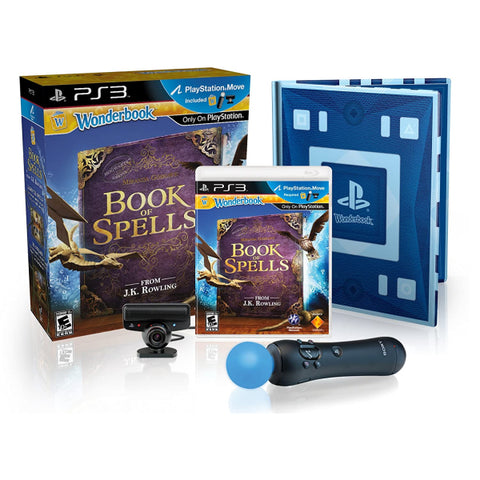 Wonderbook: Book of Spells - PlayStation Move Bundle [PlayStation 3]
