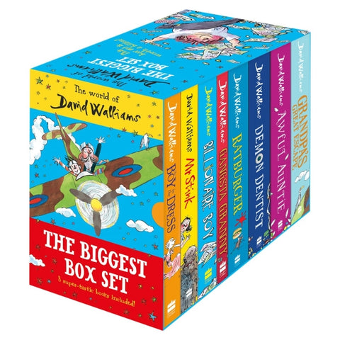 The World of David Walliams: The Biggest Box Set [8 Paperback Book Set]