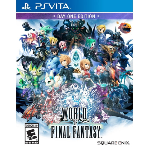 World of Final Fantasy - Day One Edition [Sony PS Vita]