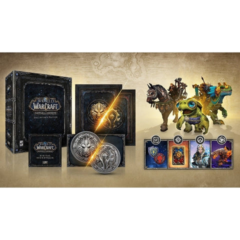 World of Warcraft: Battle for Azeroth - Collector's Edition [Mac & PC]