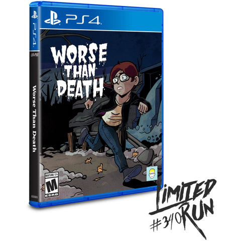 Worse Than Death - Limited Run #340 [PlayStation 4]