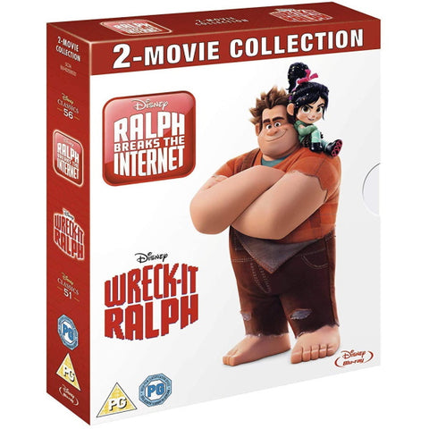 Disney's Wreck-It Ralph: 2-Movie Collection [Blu-Ray Box Set]