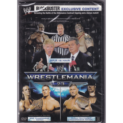 WWE: WrestleMania 23 - Hair Vs. Hair Featuring Donald Trump [DVD]