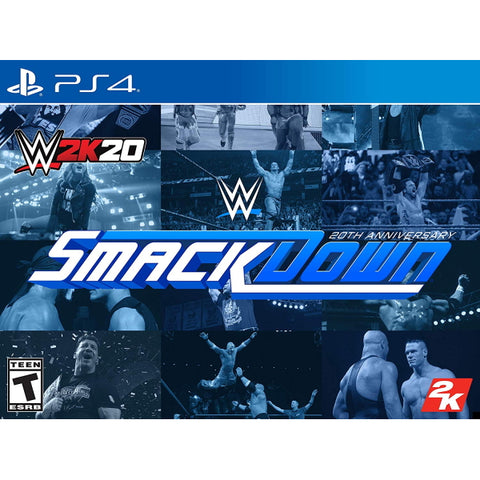 WWE 2K20 - 20th Anniversary SmackDown Edition [PlayStation 4]
