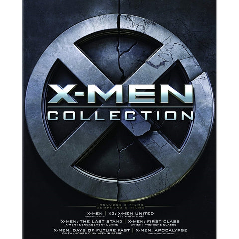 X-Men Collection [Blu-Ray + Digital Box Set]