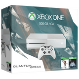 Xbox One White Console: Quantum Break Special Edition Bundle [Xbox One System, 500GB]