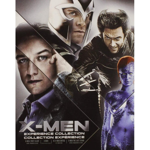 X-Men Experience Collection [Blu-Ray Box Set]