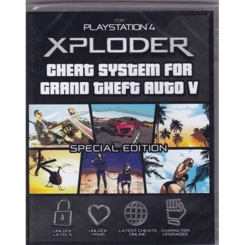 Xploder Cheat System for Grand Theft Auto V - Special Edition [PlayStation 4 Accessory]
