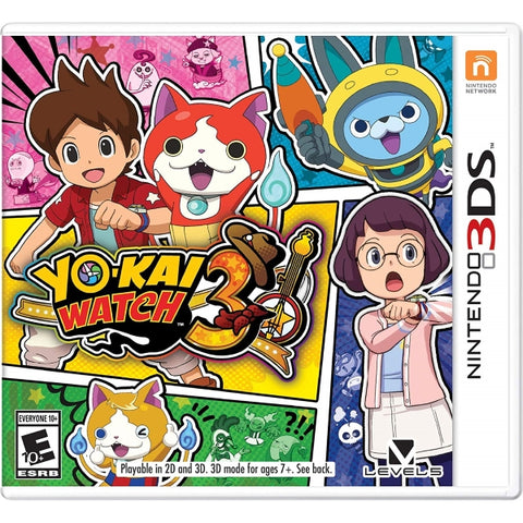 Yo-kai Watch 3 [Nintendo 3DS]