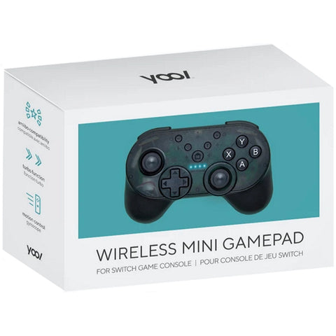 YOOL Wireless Mini Gamepad w/ Turbo Mode + Amiibo NFC Support [Nintendo Switch Accessory]