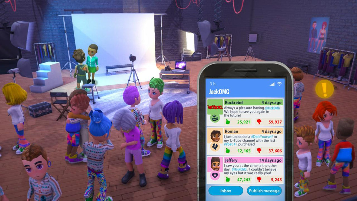 Youtubers Life: OMG Edition [Nintendo Switch]