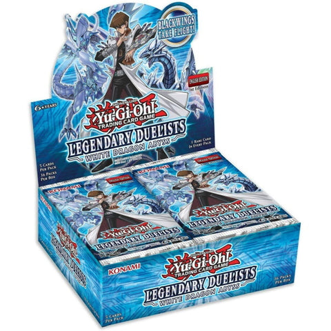 Yu-Gi-Oh! Trading Card Game: Legendary Duelists: White Dragon Abyss Booster Box [Card Game, 2 Players]