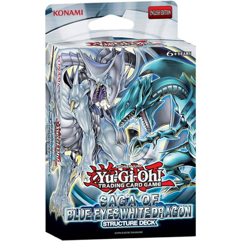Yu-Gi-Oh! Trading Card Game: Saga of Blue-Eyes White Dragon Structure Deck [Card Game, 2 Players]