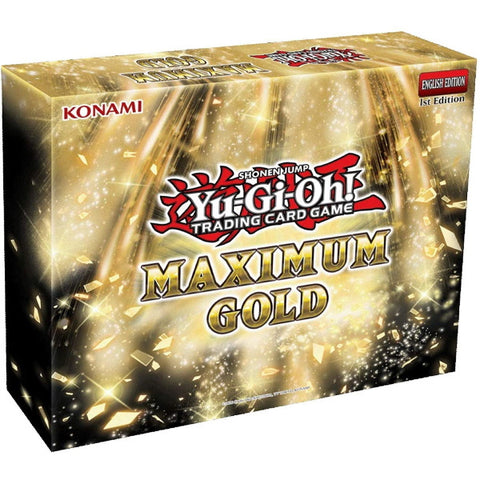 Yu-Gi-Oh! Trading Card Game: Maximum Gold Box [Card Game, 2 Players]