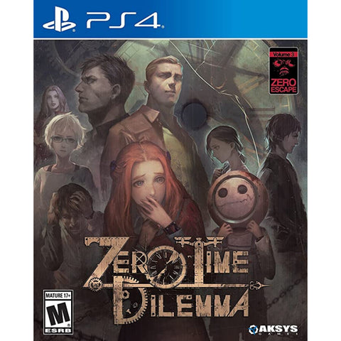 Zero Escape: Zero Time Dilemma [PlayStation 4]