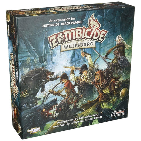 Zombicide: Black Plague - Wulfsburg Expansion [Board Game, 1-6 Players]