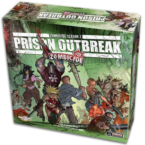 Zombicide Season 2: Prison Outbreak [Board Game, 1-6 Players]