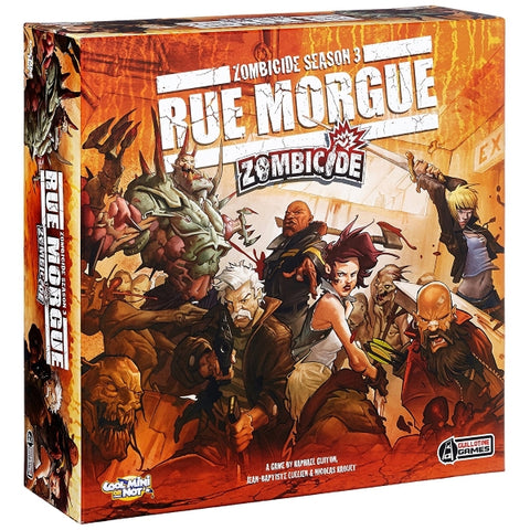 Zombicide Season 3: Rue Morgue [Board Game, 1-12 Players]