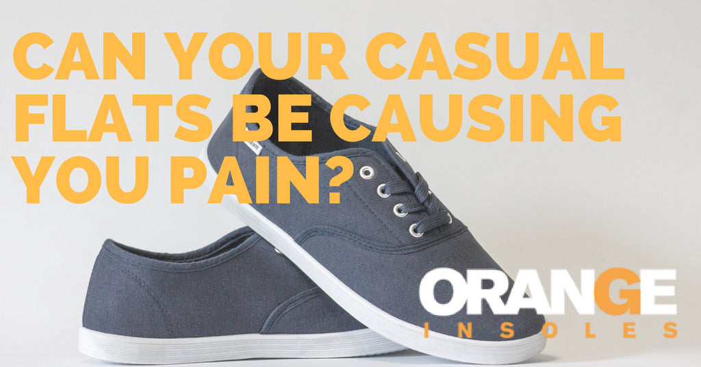 Can Casual Flats Be Causing Your Pain?