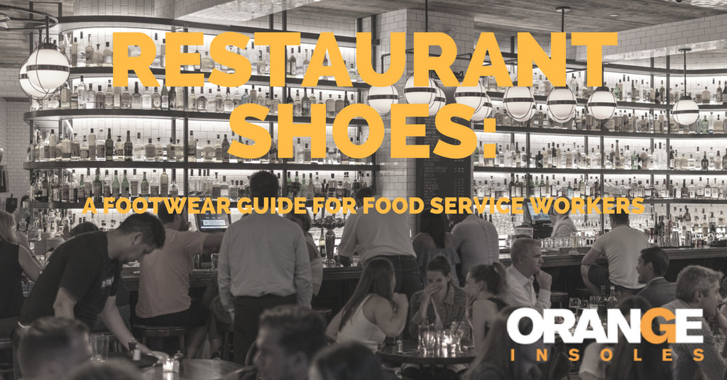 Restaurant Shoes: A Food Service Worker's Guide To Footwear