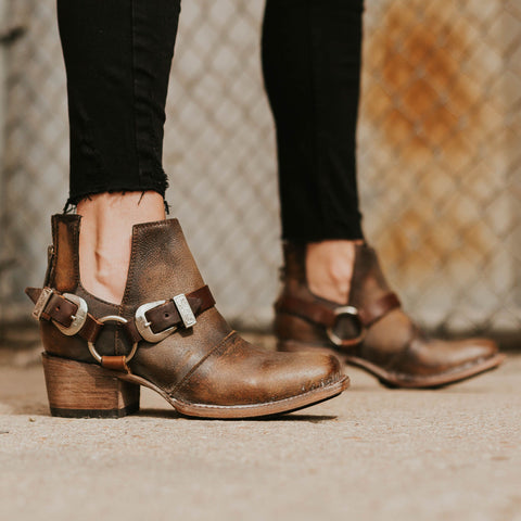Truce in Brown Distressed