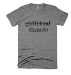 GIRLFRIEND, FIANCEE ENGAGEMENT T-SHIRT