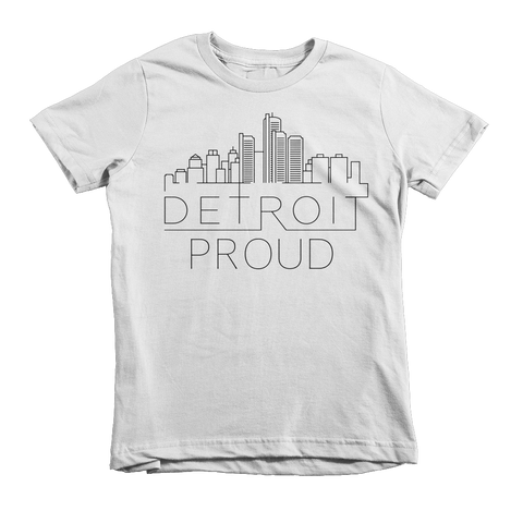 DETROIT PROUD KIDS T-SHIRT