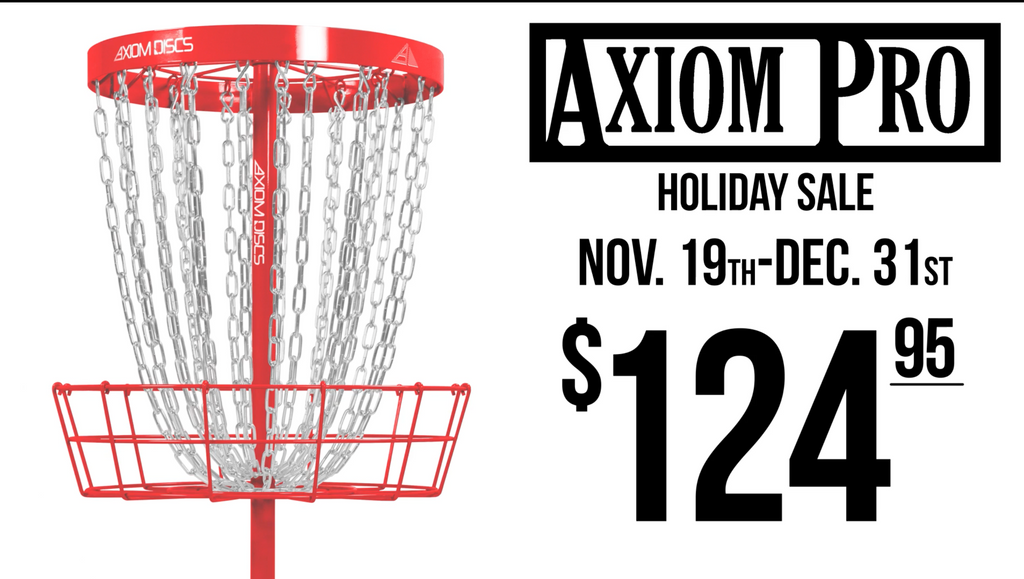 AXIOM PRO BASKET HOLIDAY SALE