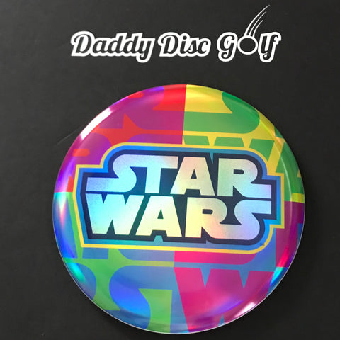 *NEW* Discraft Buzzz Full Foil Super Color Midrange with Star Wars Stamp