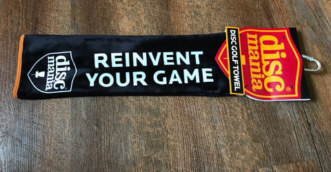Discmania Reinvent Your Game Disc Golf Towel
