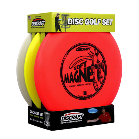 Discraft Beginner Disc Golf Set (3 Discs)