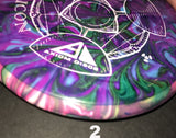 Axiom Icon Neutron Mini Disc with Jeff Ash Custom Dye