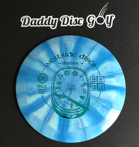Westside Discs Destiny Tournament Burst Distance Driver