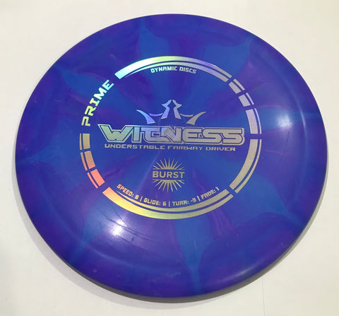 Dynamic Discs Witness prime Burst Fairway Driver