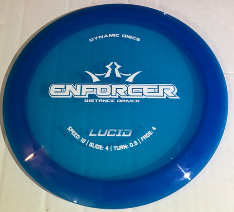 Dynamic Discs Enforcer Lucid Distance Driver