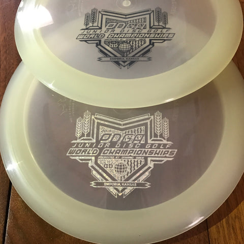 Dynamic Discs Defender Moonshine Distance Driver w/ PDGA Junior Worlds Stamp