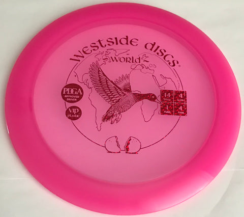 Westside Discs World VIP Distance Driver