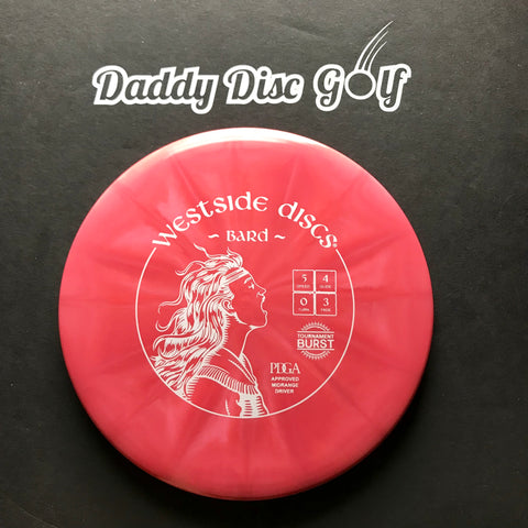 Westside Discs Bard Tournament Burst Midrange