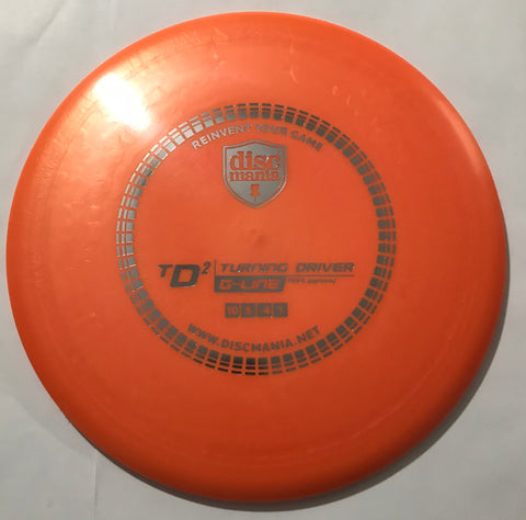 Discmania TD2 G-Line Turning Driver