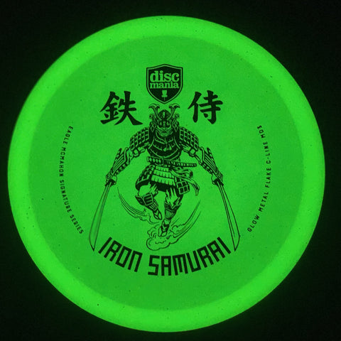 **NEW** Discmania Eagle McMahon's Signature Series MD3 Metal Flake Glow C-Line w/ Samurai Stamp